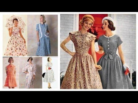 Vintage Outfit Ideas 2019-20=Vintage Dresses 50s Style=Retro Style .