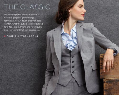 Banana Republic Classic Womens 3 Piece Suit | Suits for women .