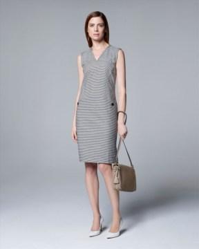 White striped Seersucker dress