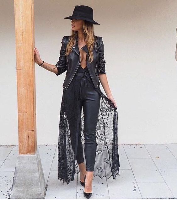 black lace kimono everything black everything