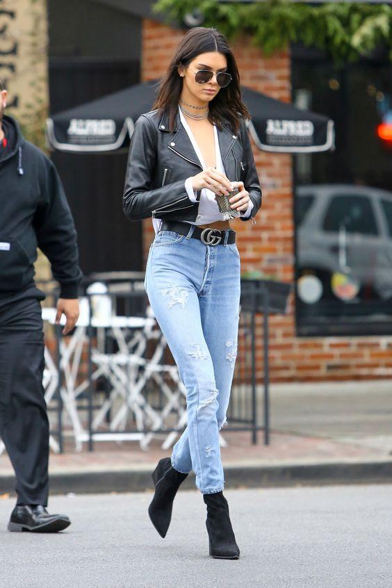 cropped jacket jeans