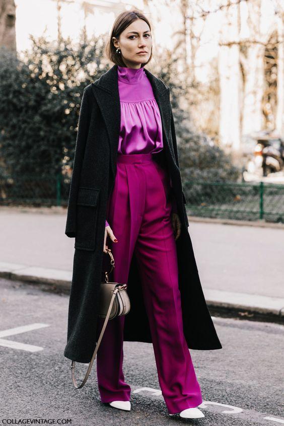 purple trousers giorgia tordini
