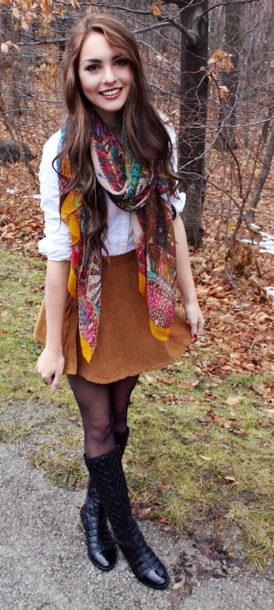 quilted boots shade of fall
