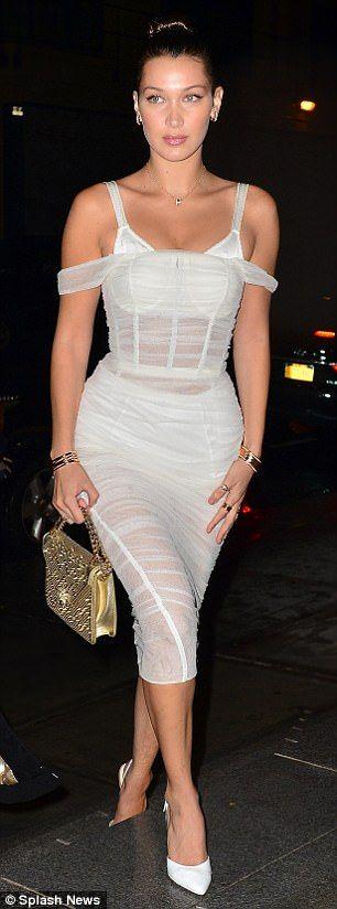 white corset dress clean