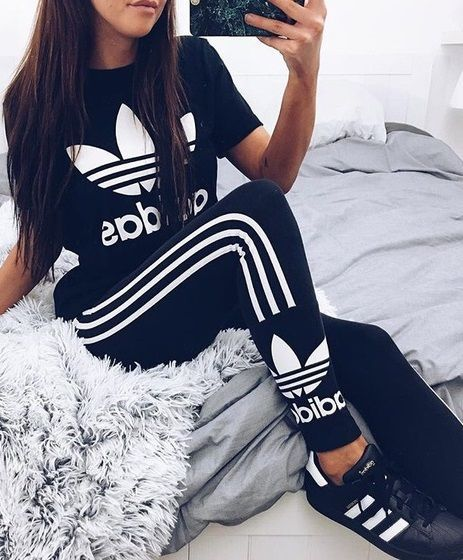 ♡ Women's Adidas Workout Leggings | Workout Clothes | Good .