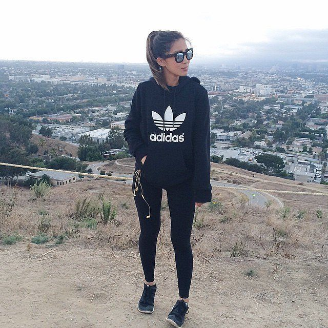 Women Shoes A | Sporty outfits, Black leggings outfit, Fashi