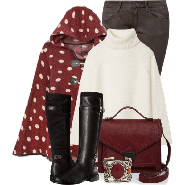 Capes Outfit Ideas For Women Over 50: Best Polyvore Ideas To Try .