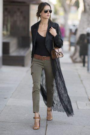 50 Perfect Work Clothes For Women Kimonos, Blouses, Pencil Skirts .