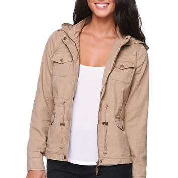 LA Hearts Shrunken Anorak Jacket - Womens from PacS
