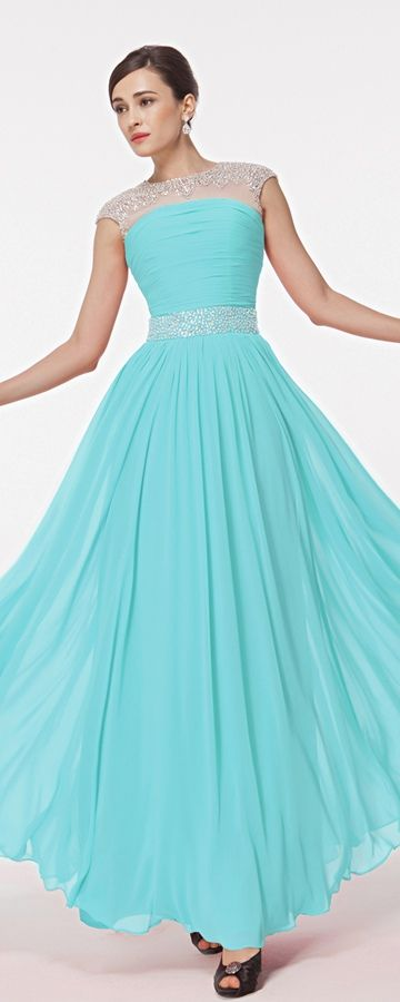 aqua blue dresses - Dress