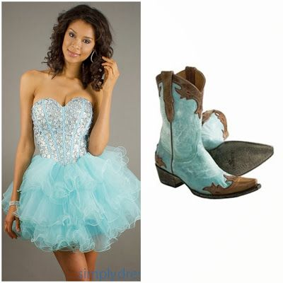 Aqua Blue Country Western Quinceanera Theme Outfit Ideas | Pretty .