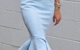 outfit #ideas / baby blue dress | Fashion, Pretty dress