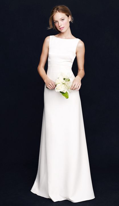 Low-Key Wedding Dresses That Won't Make You Look Like Bridal .