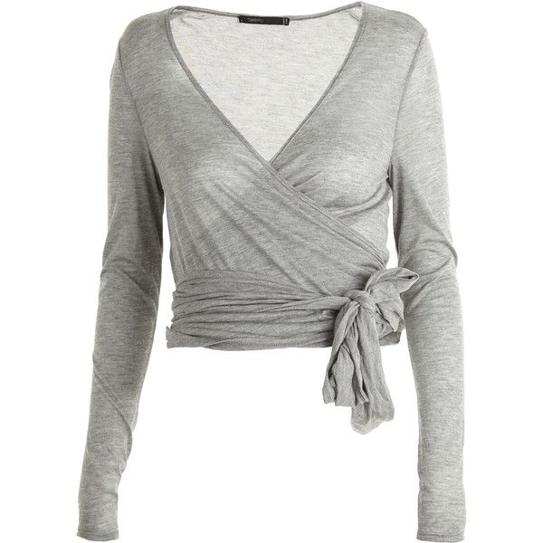 TWENTY Ballerina Wrap Cardi ($159) ❤ liked on Polyvore. Another .
