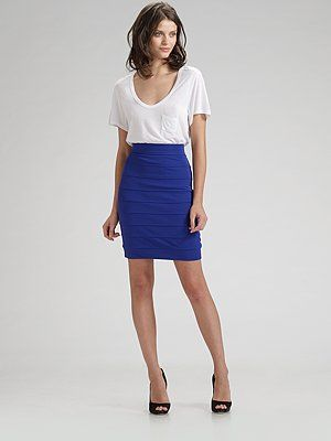bandage skirt outfit | Skirt outfits, Stylish work outfits .