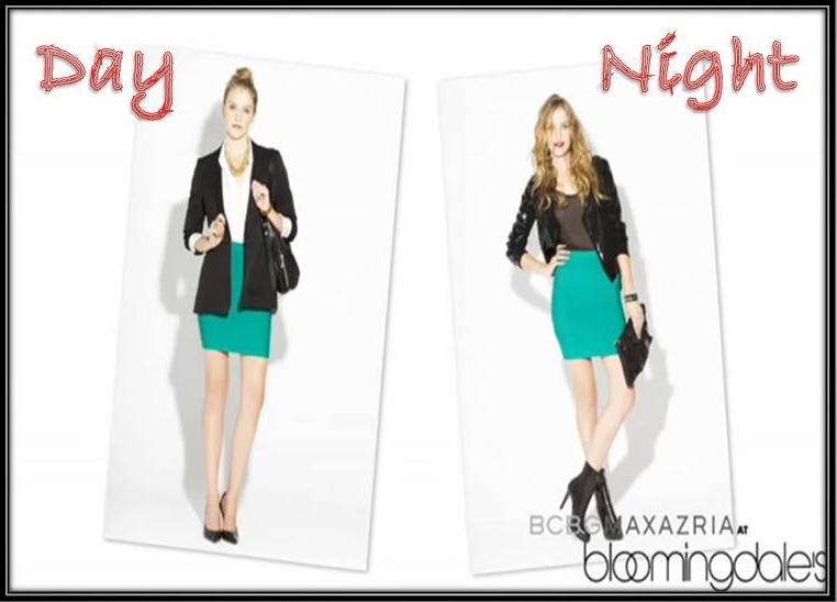 BCBG Power Bandage Skirt: Office Outfit | Herve Leger Obsess