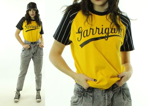 Vintage 80's Baseball T-Shirt Jersey 1980's Medium M | Athletic .