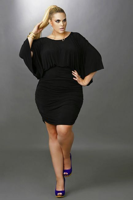 Plus+Size+Clothing+for+Women | the benefits of plus size black .