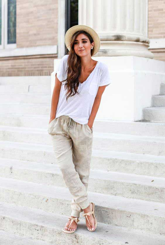 What To Wear With Linen Pants | Pant