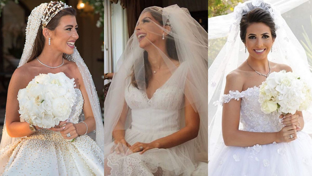 A Closer Look at the Most Stunning Jordanian Brides of 20