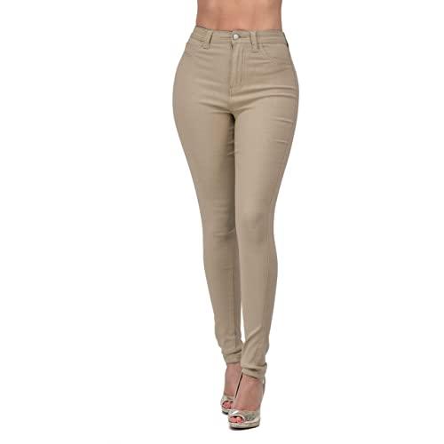 High Waisted Khaki Pants: Amazon.c