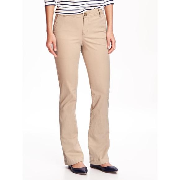 Old Navy Pants | Womens Khaki Bootcut | Poshma