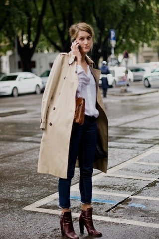 10 Styling Tips to Wear a Trench Co