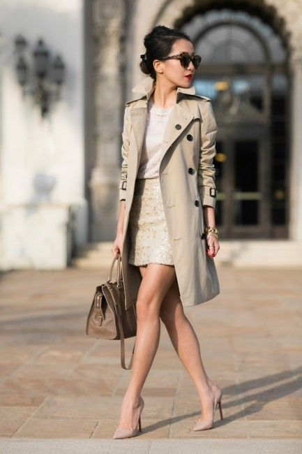 25 Trench Coats to Wear for Early Fall | Mode, Trenchcoats, Modest