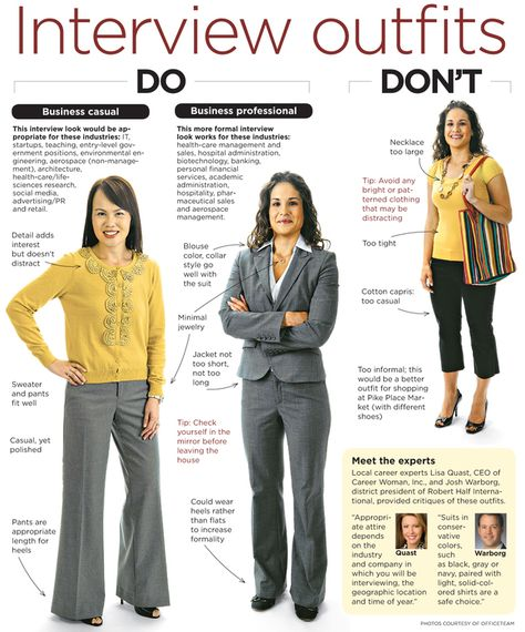 Career Center | Interview outfits women, Job interview outfit .