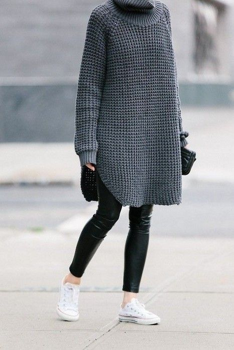 21 Cute Oversized Sweater Outfit Ideas Glamsugar.com Street style .