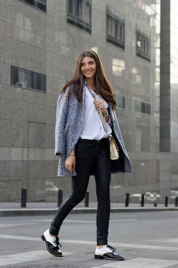 30 Perfect Outfits to Wear With Oxford Shoes   Stylish outfits .