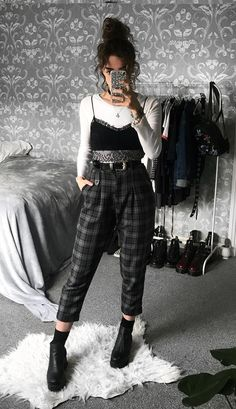 40 Best Plaid pants images | Plaid pants, Clothes, Fashi
