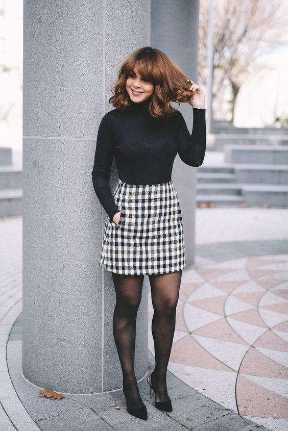 60+ Never Failed Chic Long Sleeve ang Mini Skirt Outfits Ideas .