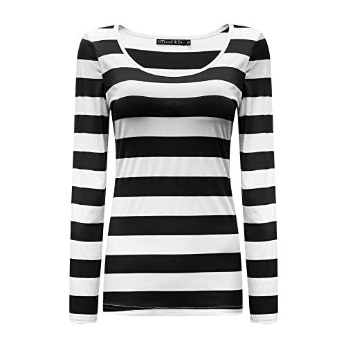 Black and White Striped: Amazon.c