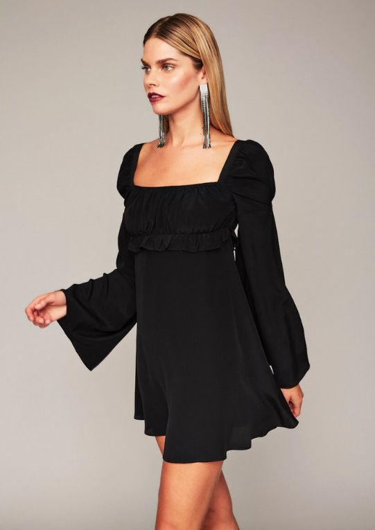 Black Baby Doll Dress:14 Beautiful Outfit Ideas - FMag.c