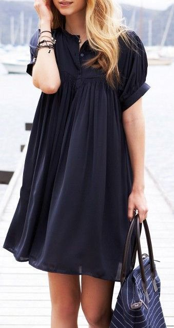 Black Baby Doll Dress | Fashion, Style, Cute dress