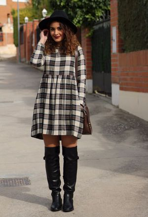 Outfit with babydolldress | Chicisi