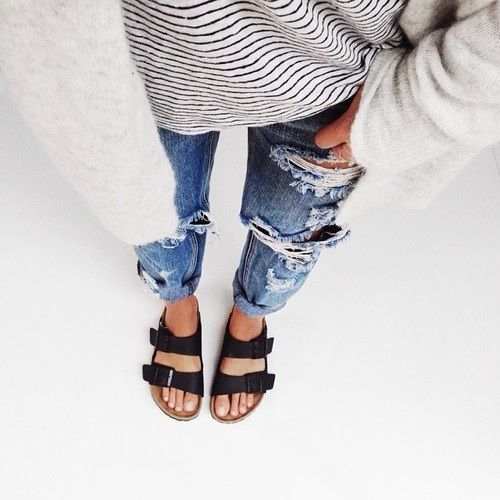 How to Wear Black Birkenstocks Without Looking Awkward - FMag.c