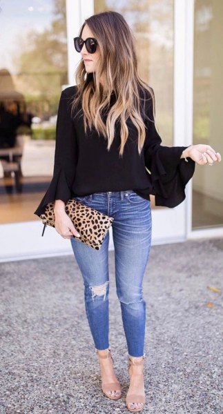 How to Wear Black Blouse: Best 15 Outfit Ideas for Ladies - FMag.c