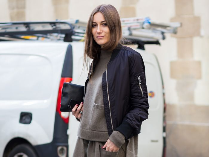 10 Easy Black Bomber Jacket Outfits to Wear This Winter | Who What .