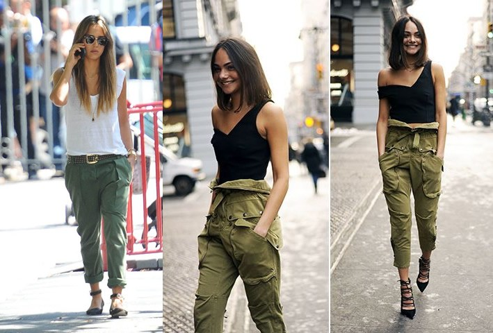 10 Amazing Ways to Wear Cargo Pants for Women - FMag.c