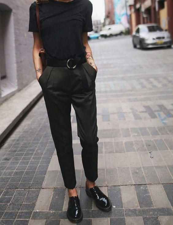 25 Beyond Cool All Black Outfit Ideas For Women | Fashion, Clothes .