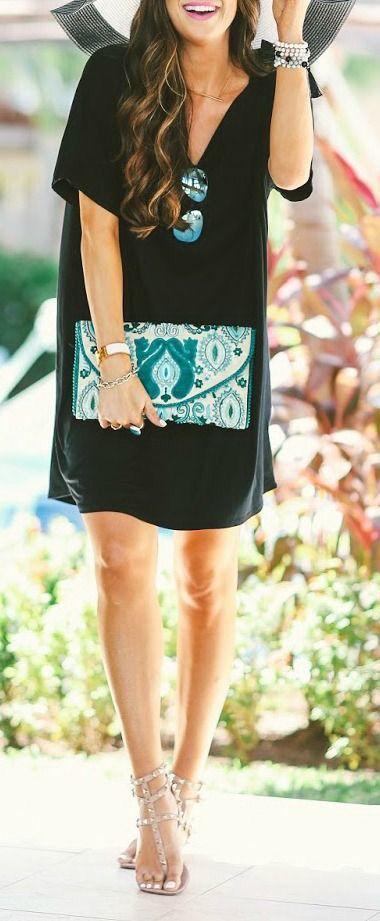Color pop. Shift Dresses, dress, clothe, women's fashion, outfit .