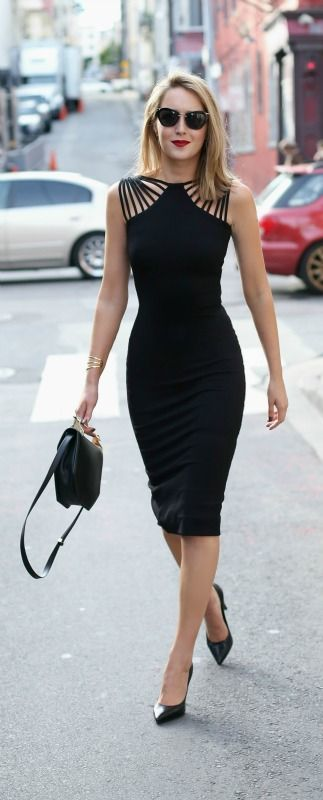 100 Ideas About The Black Dresses Make Us Look Simple And Elegant .