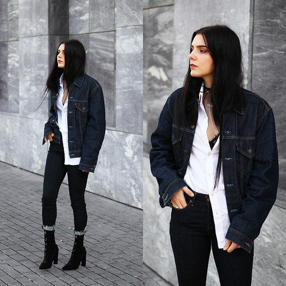 Outfit Ideas: Denim Jacket Outfit Ideas For Ladi