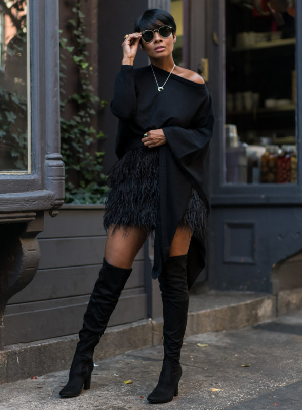Six Black Winter Outfit Ideas | 2018 Fashion Tren