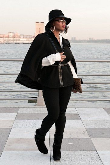 Wide brimmed black felt fedora womens hat street style | Fedora .