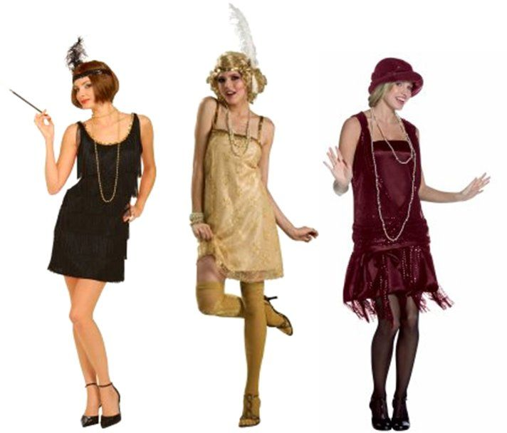 DIY Halloween Costume Idea – Flapper Girl | Flapper costume diy .