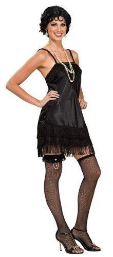easy DIY flapper dress ideas | Flapper costume, Black flapper .
