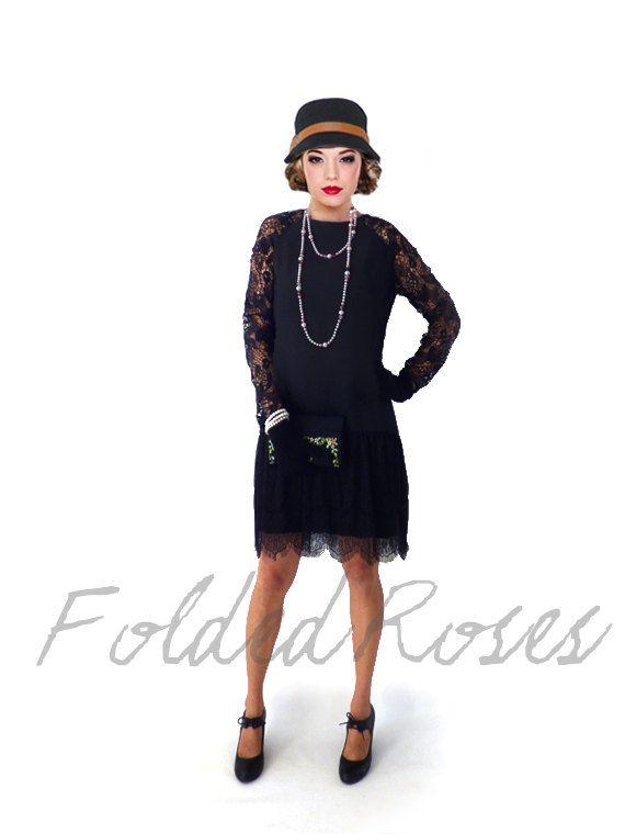 Retro 1920s Dress, Great Gatsby Dress, Flapper Dress, Flapper .